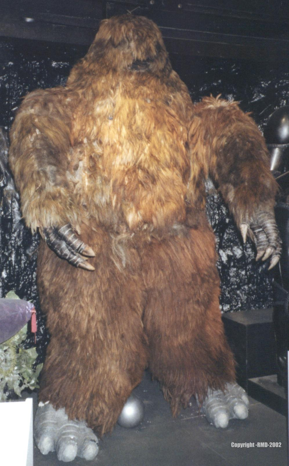 Doctor Who Exhibition Photo Archive- Yeti